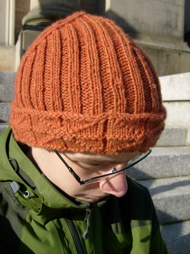 Knitted Library Window Watchcap